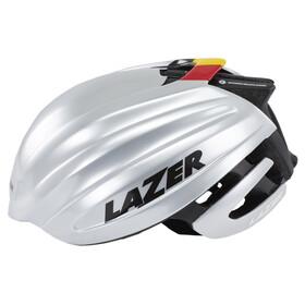 Lazer Z1 Fast Helm silber/schwarz